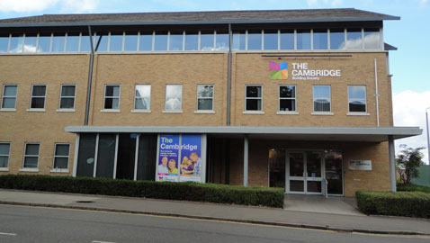 Cambridge Building Society head office