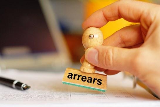 Landlord arrears half that of homeowners