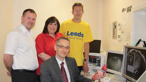 Leeds' members fight heart disease with donation