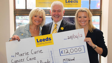 Leeds' members donate thousands to Marie Curie Cancer Care