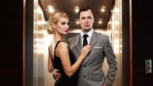 modern, glamourous couple