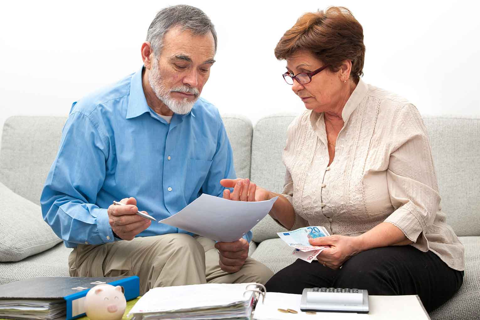 Family putting squeeze on retirement incomes