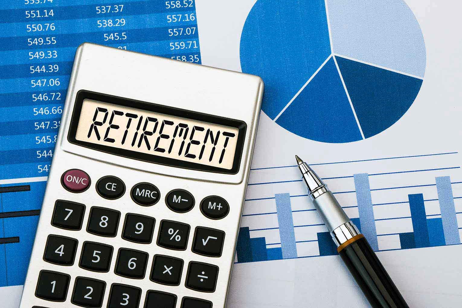 Record £19900 retirement income average